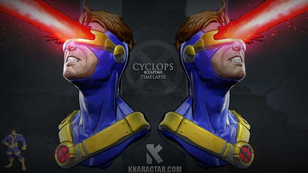 Cyclops Sculptris time-lapse by PierreRogers