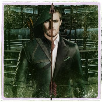 The Two Faces of Oliver Queen. by HeroPix