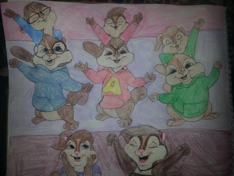 Rockin at a Chipmunks Concert! XD by allieseville1