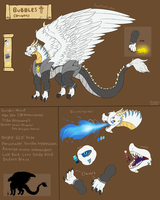 Bubbles (Updated Reference Sheet) by FanDragonBrigitha