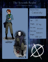 Updated: Seventh Realm OC: Cassidy by constantron