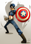 Captain America by lufidelis