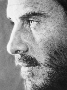 Michael Fassbender closeup by anyus