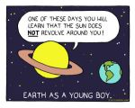 Earth as a young boy by The-Sardonics