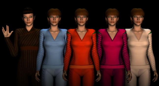 T'pol Uniform Textures by cowleyduck
