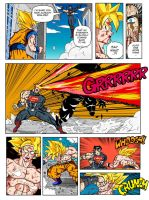 SPECIAL Page77 - Son Goku and Superman: The Clash by Einstein001
