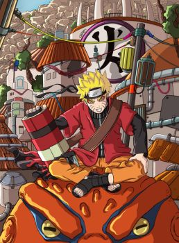 Naruto : The New Hokage by 3Dx2Y