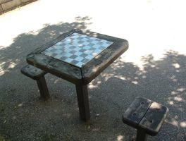 Chess Table by wrathman-stock