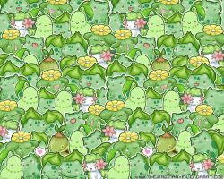 Grass Pokemon Wallpaper