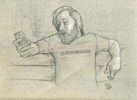 inbetweendoodles ummagumma pencils LG by jetdog-art