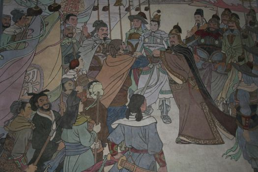 Hangzhou Wall Painting by BlueFve
