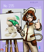 Smeargle - for pokedex by morganchan