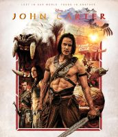 John Carter - Movie Poster by Zungam80