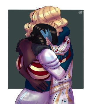 Tary and Vex by Blueberry-me