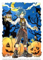 KHCoM: Zexion Halloween-AT 01 by BOMB4Y