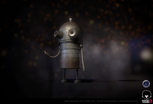 Machinarium 3D Joseph 1 by gearspec