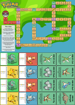 Pokemon drinking game v2.0 by Speedyrulez