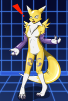 Renamon Suit by DSAPROX