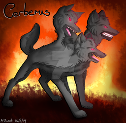 (REQUEST) Cerberus : 3 headed dog by NatalieGuest