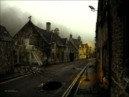 Ghost Town by kitkat523