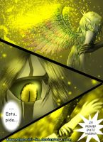 Ulquiorra Returns Comics P50 Gold Glitter Omen by Shabriri-Lin