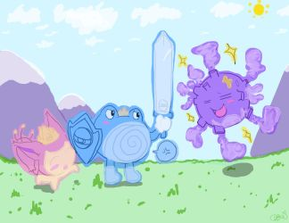 Prince Poliwhirl by SolbiiMelody