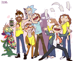 to much morty by D4gm4rs