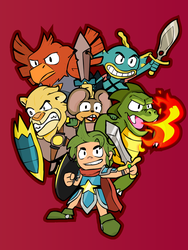 Wonder Boy: The Dragon's Trap by PsychoPop