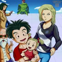 DBZ - Strolling with family by ChristianStrange3