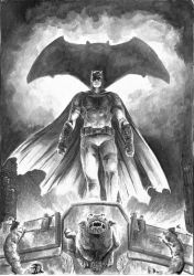 Batman by kewber
