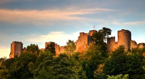 Ludlow Castle by CharmingPhotography