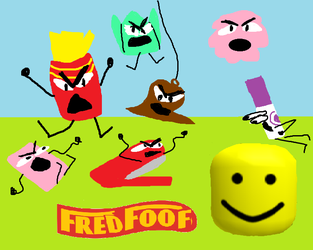 BFB teams: Fred Foof by baguettesinmypocket