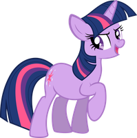 Twilight Sparkle vector 1: Oh yea! by Duskie-06