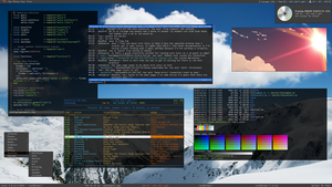 Arch Linux Awesome WM by int001h