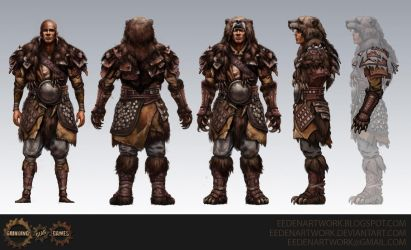 Bear Armour by Eedenartwork