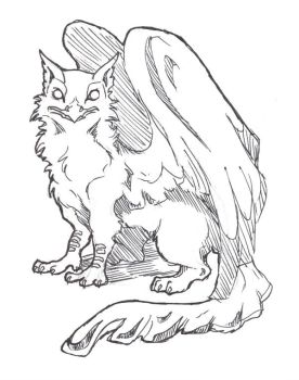 Ink Gryphon by Professor-R