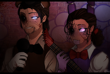 FNAF AU(From this rlly cool wattpad book) by CaseyKeshui