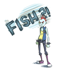FISH?! by CandyRobot