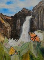 Monarchs on Milkweed Creatures  of Light 3 by Yosemite-Stories