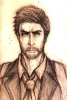 Booker Dewitt. by Paper-pulp
