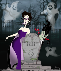 The ghosts and the love by VampiraLady