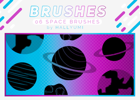 BRUSHES: Space by Hallyumi