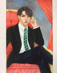 COMMISSION #6 - TOM RIDDLE - HARRY PORTER by LancelotKingsleigh