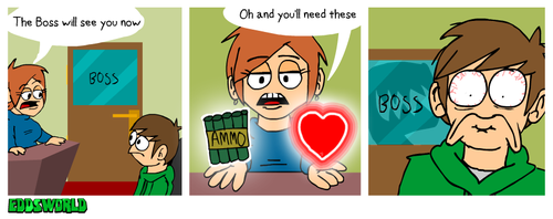 EWCOMICS114 - Boss by eddsworld