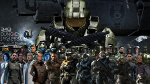 Halo UNSC Characters by KILLthatThing