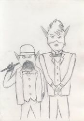 Watson and Holmes by EgonEagle