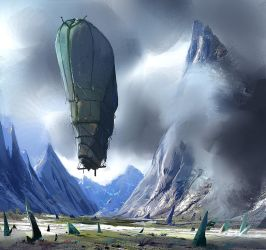 Balloon expedition by Jarkuzy