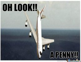 Oh Look A Penny by boeingboeing2
