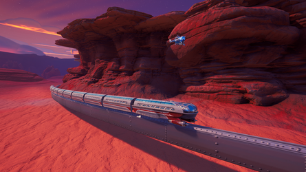 Mars Police, new environment models by sittingducky