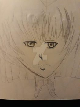 Rough Sketch (unfinished) Silky by CatgirlLizzie1234